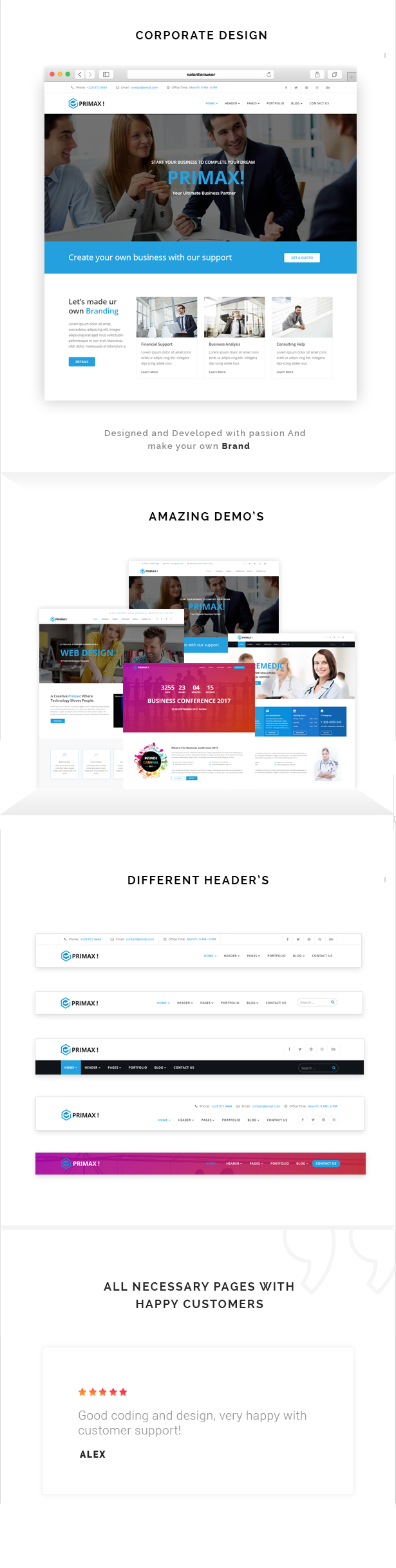 Primax - Multi-Purpose Joomla Template - 2